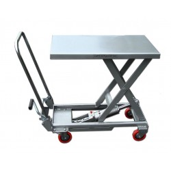 Table de levage mobile manuelle aluminium - ALT 10
