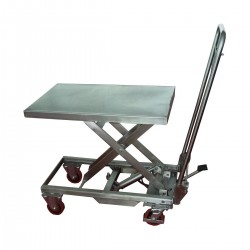 Table de levage mobile inox manuelle - MH-V10
