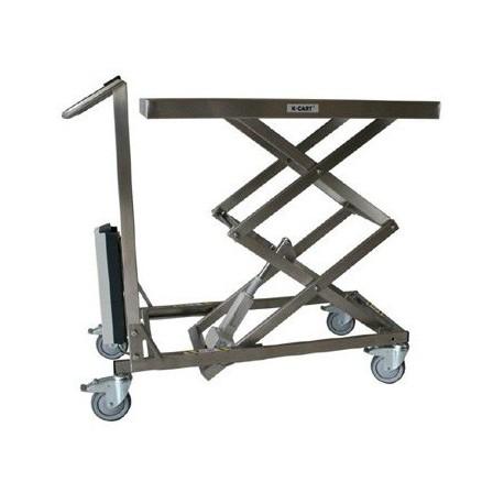 Table de levage mobile inox lectrique xcart palvac - Table electrique osteopathie occasion ...