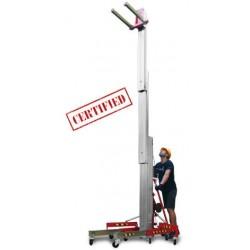 <p>Capacité 400 kg / Hauteur d'élévation 6500 mm</p>
