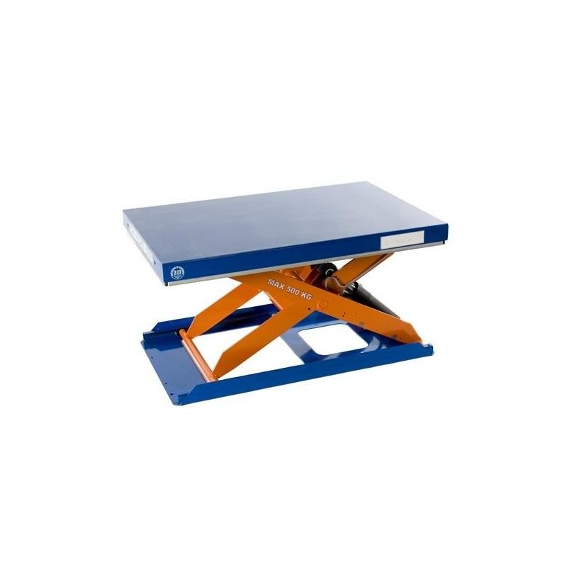Table de levage extra plate tcr 500 - Table elevatrice electrique occasion ...