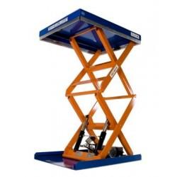<p>Table élévatrice fixe / Capacité 500 Kg / Elévation maxi : 1375 mm / Plateau de 900*700 mm /Haute qualité de fabrication Européenne.</p>