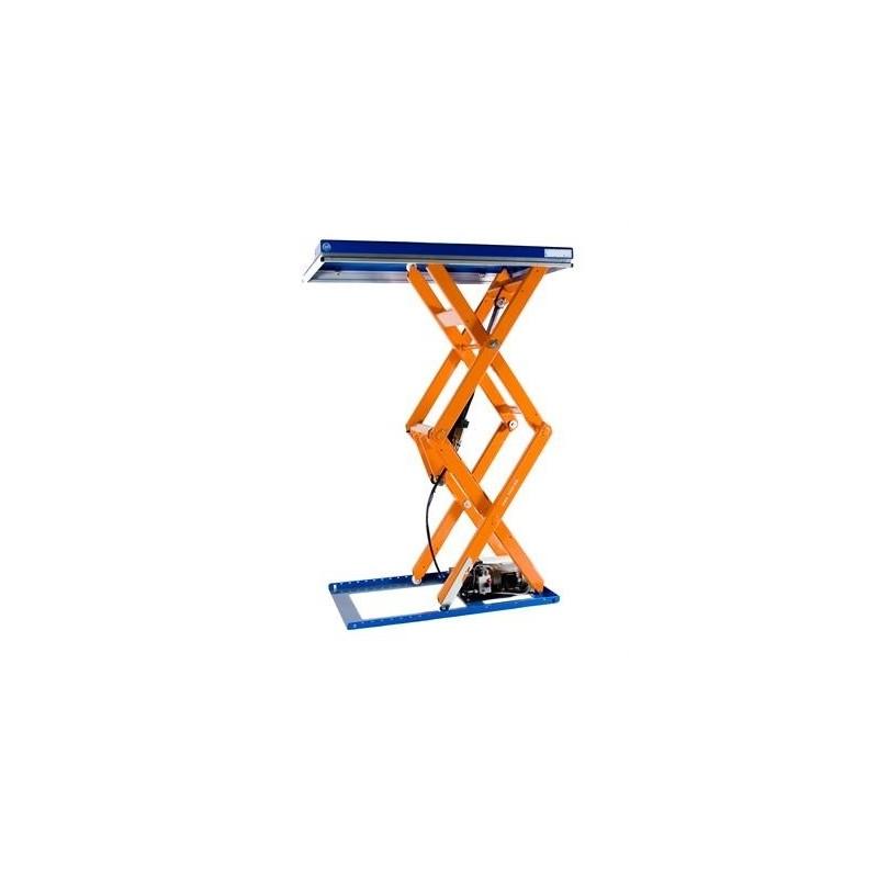 Table levatrice fixe double ciseaux verticaux tld 1000 xb for Table elevatrice a ciseaux