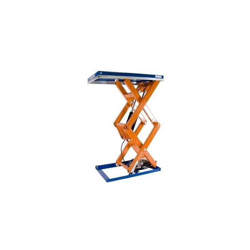 Table levatrice fixe double ciseaux verticaux tld 2000 b for Table elevatrice a ciseaux