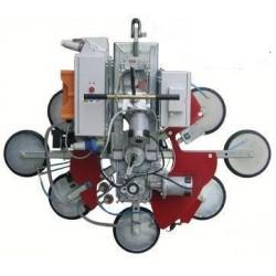 <p>Capacité 1200 Kg / 8 ventouses Ø 390 mm / Alimentation électrique (380V tri ou 220 V Mono)</p>