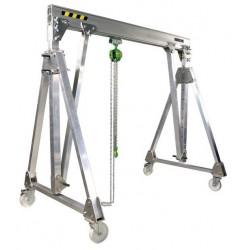 <p>Hauteur sous fer réglable de 1550 à 2150 mm</p> <p></p>