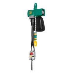 <p>Capacité : 250 Kg /</p> <p>Vitesse de levage en charge : 8 m/ min /</p> <p>Hauteur d'élévation standard : 3000 mm</p>