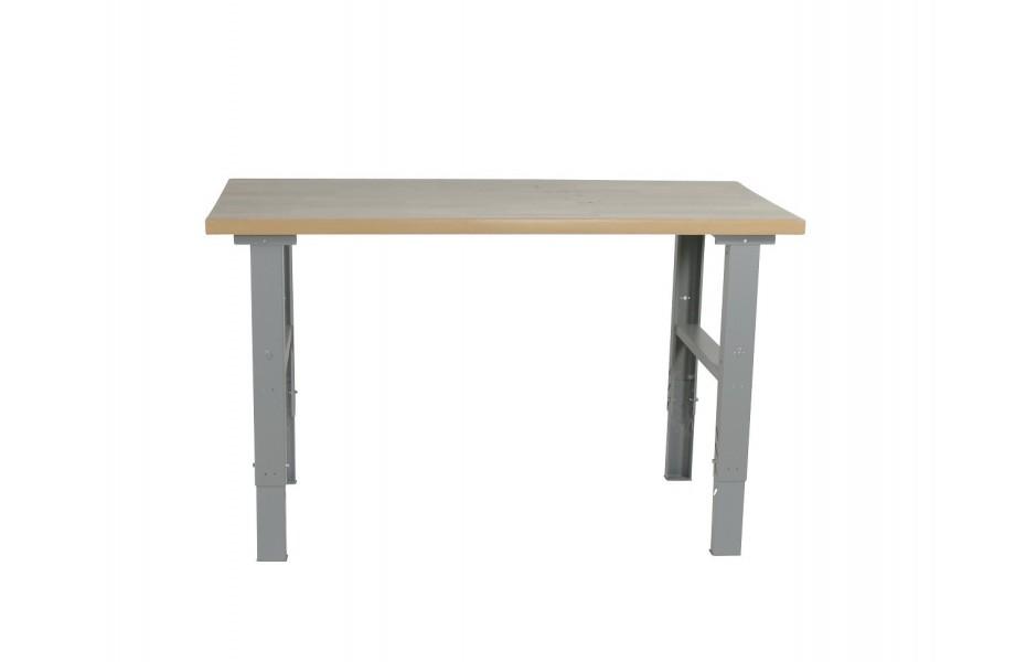 table de travail fixe 743342 s palvac. Black Bedroom Furniture Sets. Home Design Ideas