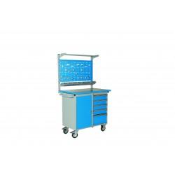 <p>Capacité totale 600kg / capacité par tiroir 40 kg</p> <p>dimension 1025 x 600 x 900 mm</p>