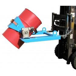 <p>Conçu pour le basculement des fûts aciers, plastiques (60-220 L) et poubelles (120-240 L)</p>
