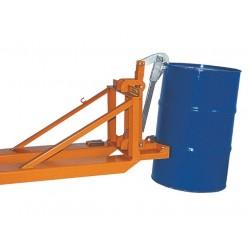 <p>Pince à futs acier et plastique</p> <p>Forte capacité 800kg par pince</p> <p>Très haute qualité de fabrication</p>