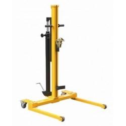 <p>Capacité de levage : 300 kg</p> <p>Dimensions : 866x956 mm</p> <p>Gerbeur élévateur pour fût en métal</p>