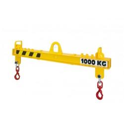 <p><strong>Capacité 10 000 Kg</strong> Portée standard réglable de 1000 à 6000 mm</p>