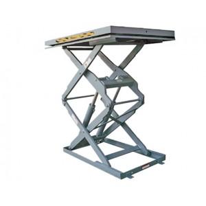 Table l vatrice inox double ciseaux verticaux palvac for Table elevatrice a ciseaux
