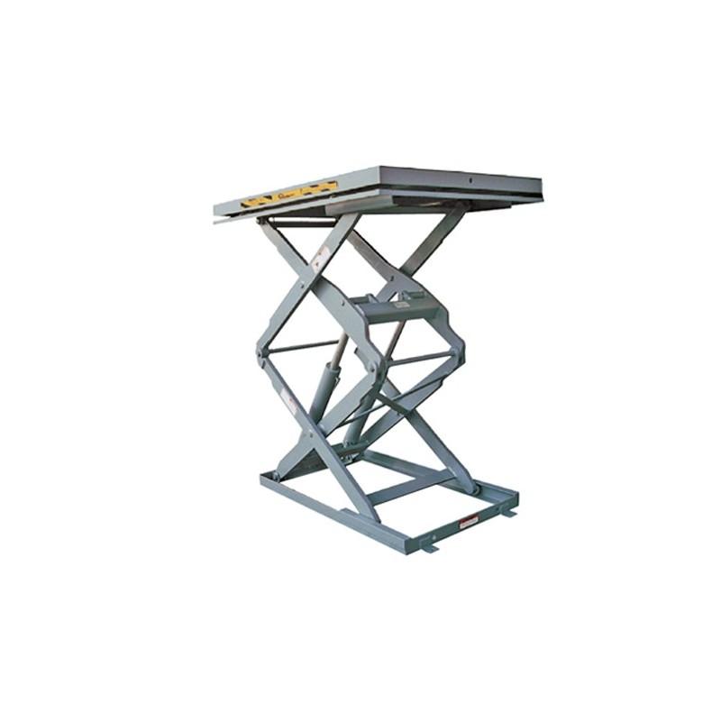 Plateforme de levage inox doubles ciseaux verticaux prlxy2 - Table elevatrice electrique occasion ...