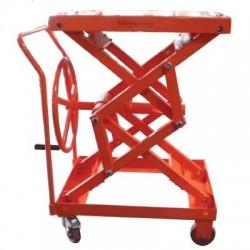 Table élévatrice mobile manuelle à manivelle - BV 500