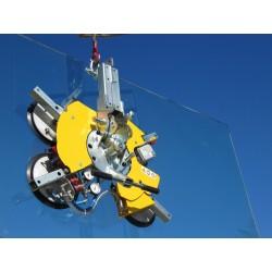 Palonnier à ventouses pour le verre VB4 - 400 Kg