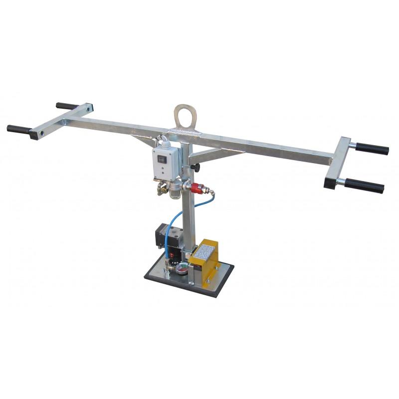 Ventouse pour la manutention de dalle b ton ou bordure - Produit pour dalle beton ...