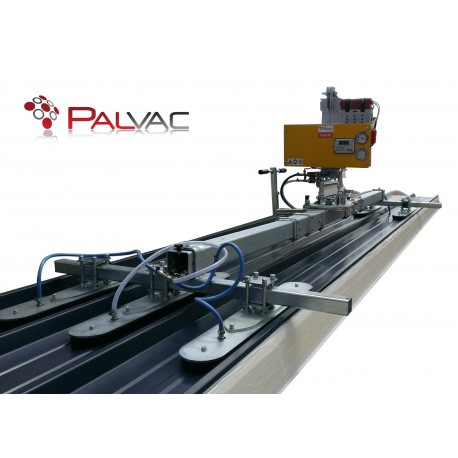Capacité 400 Kg /Pour la manutention de panneaux sandwich jusqu'à 12 000 mm ou 16 000 mm de long / Double position : Horizontale et verticale /Fabriqués selon la norme EN 13155