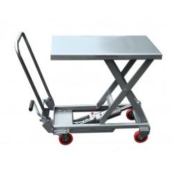 Table de levage mobile manuelle aluminium - ALT 10