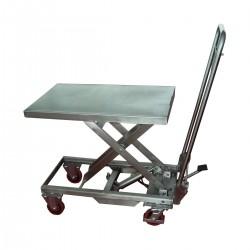 Table de levage mobile inox manuelle - MH-V10