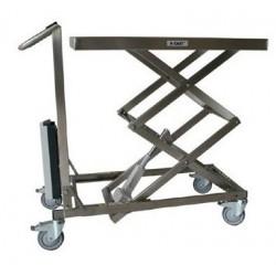 Nouvelle gamme de tables mobiles en inox