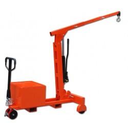 Potence mobile sur roues 550 Kg