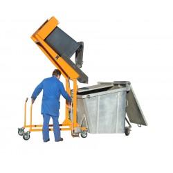 Basculeur de poubelles hydraulique manuel
