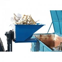 Faciliter la gestion des déchets dans l'industrie grâce à l'utilisation de bennes basculantes