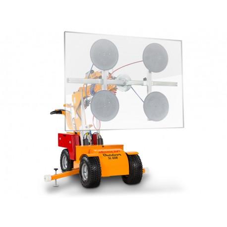 capacité maxi 608 Kg. Elévation maxi 3300 mm / Robot de pose pour vitrage /