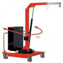 Grue mobile rotative porte à faux 500 Kg