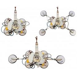 VB4+4 Palonnier à ventouses autonome pour vitrage - 400 à 800 Kg