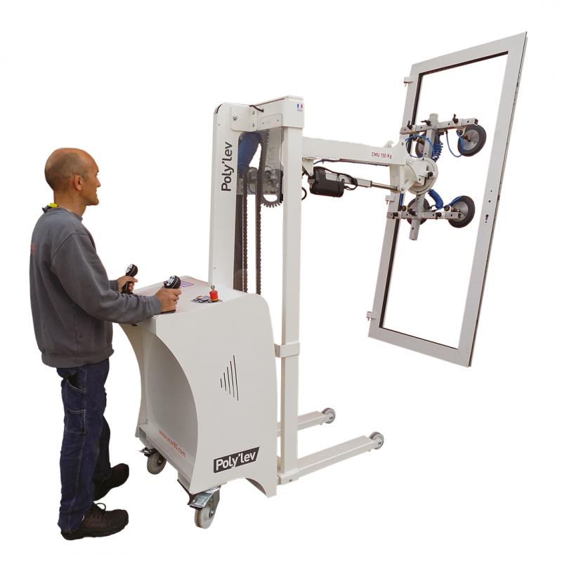 Capacité de 150 Kg et d'une hauteur de levée à 1843 mm Manipulateur pour atelier.