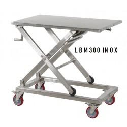 Table élévatrice inox mobile manuelle...