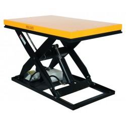 <p>Table élévatrice fixe au rapport qualité prix imbattable! / Capacité 3000 Kg / Elévation maxi : 1010 mm / Plateau de 1300*800 mm   </p>