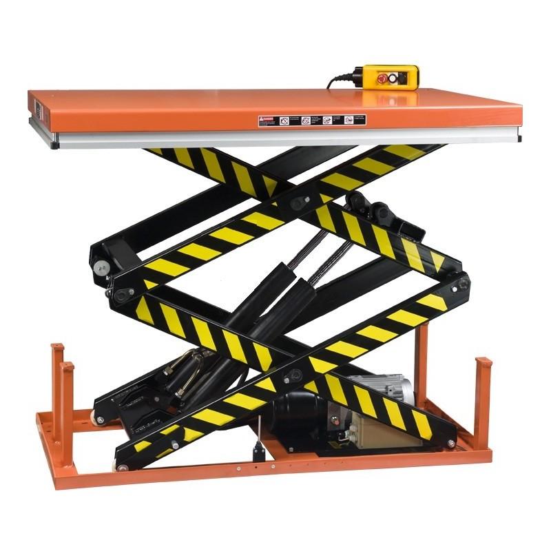 Table levatrice fixe double ciseaux verticaux hsd 1000 - Table elevatrice occasion ...