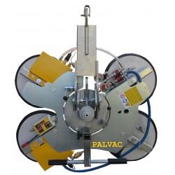 Palonnier à ventouses autonome pour vitrage VB4 d4 - 600 Kg