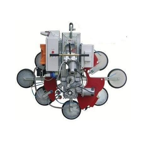 <p>Capacité 800 Kg / 8 ventouses Ø 300 mm / Alimentation électrique (380V tri ou 220 V Mono)</p>