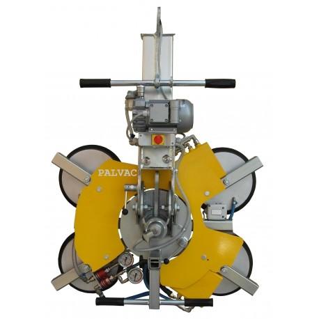 <p>Capacité 600 Kg / 4 ventouses Ø 390 mm / Alimentation électrique (380V tri ou 220 V Mono)</p>