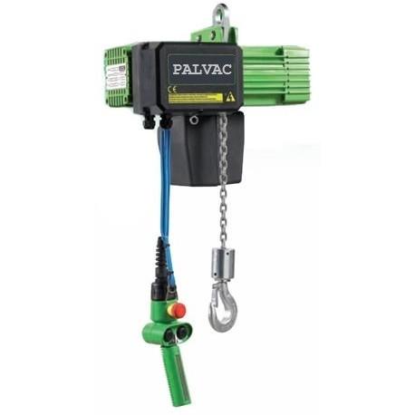 <p>Palan capacité 125 Kg /Double vitesse de levage 12 et 3 m/min /Rapport qualité prix excellent!</p>