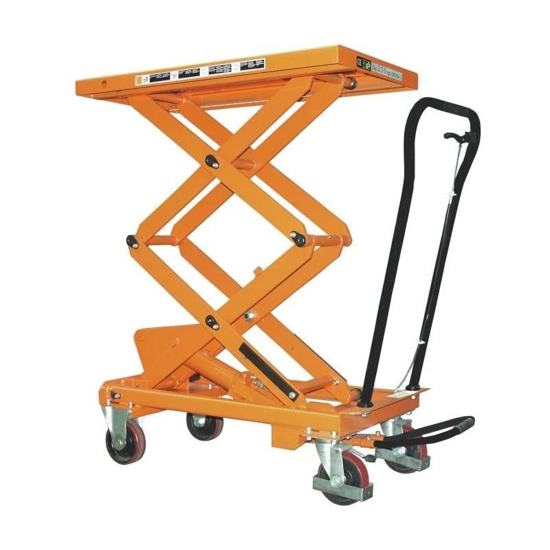 Table l vatrice mobile manuelle bs 80 d for Table elevatrice a ciseaux