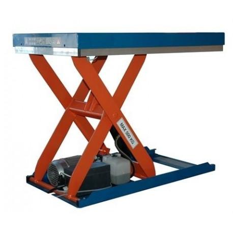 <p>Capacité 500 Kg / <br />Elévation maxi : 760 mm /</p> <p>Plateau de 900*600 mm /<br />Haute qualité de fabrication Européenne.</p>