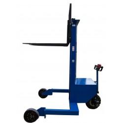 <p>Ce gerbeur tout terrain vous permet de transporter, charger et décharger des palettes avec un sol irrégulier.<br />Capacité 1000 Kg</p>