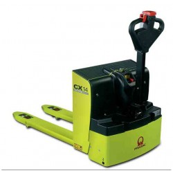 <p>Transpalette électrique PRAMAC CX 14 / Capacité 1400 Kg</p>