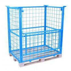 <p>Capacité 500 kg par cage</p> <p>Dimension 1200 x 800 x 1600 mm</p>