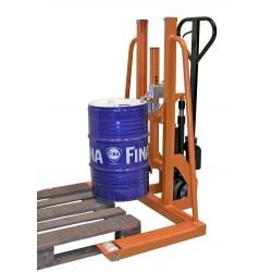 <p>Capacité de levage : 300 kg</p> <p>Dimensions : 950X1125 mm</p> <p>Gerbeur élévateur pour fût en métal et plastique</p>