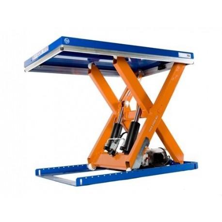 Capacité 1000 Kg / Elévation maxi : 1000 mmPlateau de 1200*800 mmHaute qualité de fabrication Européenne.