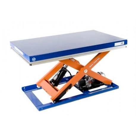 Capacité 1000 K / Elévation maxi : 1000 mmPlateau de 1300*800 mmHaute qualité de fabrication Européenne.