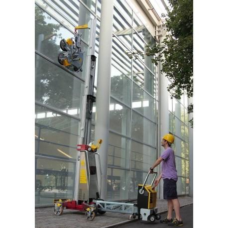 jusqu'à 4800 mm, capacité 500 Kg, démontable en 3 éléments, élévation éléctrique / Elévateur de charge
