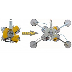 Palonnier à ventouses VB4+4 d4 - 600 à 1200 Kg